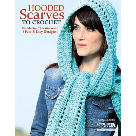 Hooded Scarves to Crochet - Walmart.com