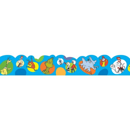 DR SEUSS BUBBLES DECO TRIM - Les Deco Halloween