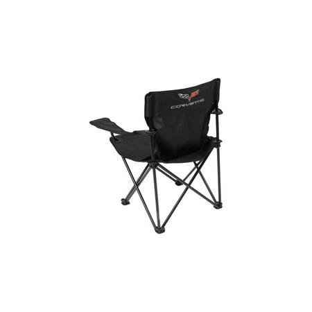 Magnificent Ecklers Premier Products 25 241164 Corvette Folding Arm Chair Mesh Black With C6 Logo Ibusinesslaw Wood Chair Design Ideas Ibusinesslaworg