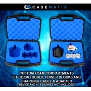 CASEMATIX Robot Case For Anki Cozmo Smart Robot and Accessories in Custom  Blue Foam - CASE ONLY