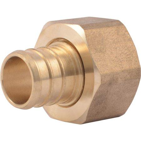 SharkBite Brass Straight Swivel Adapter