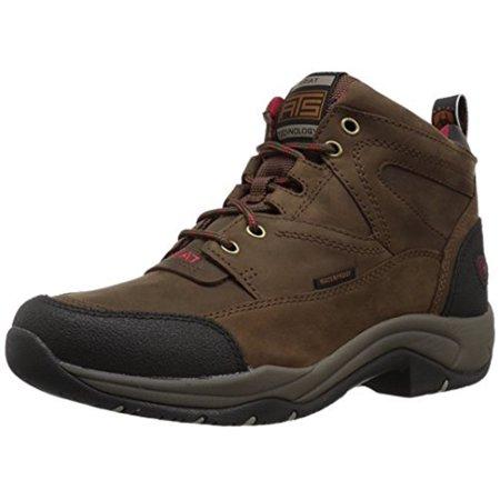 - Ariat Women's Terrain H2O Work Boot (Distressed Brown, 9.5 B(M) US)