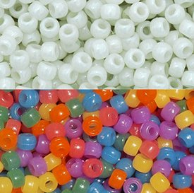 Uv Sensitive Case Fan - JOLLY STORE Crafts UV Sensitive Color Changing 9x6mm Pony Beads, 100pcs Made in the USA