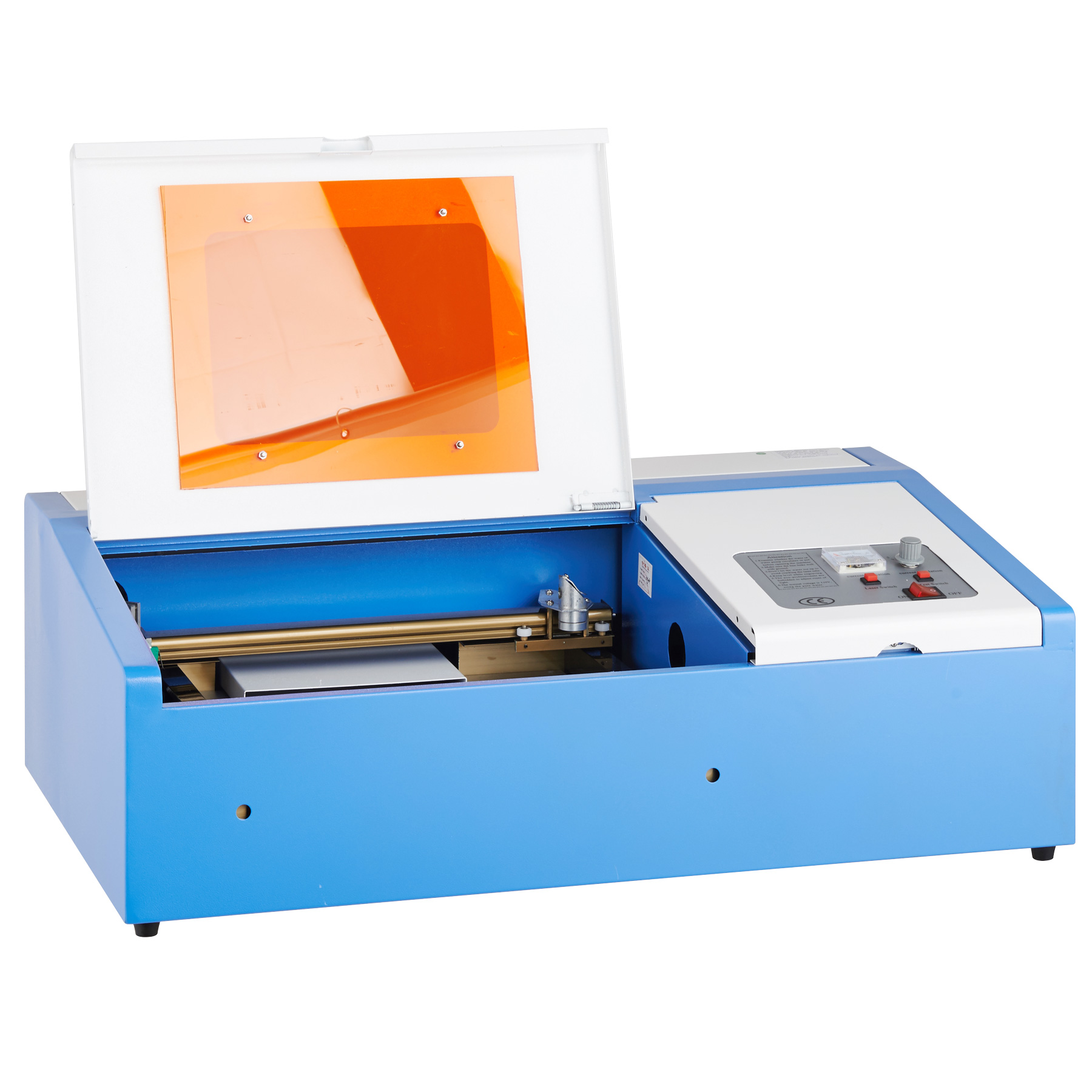 "40W 12""x 8"" CO2 Laser Engraving Machine Pro-Tech Engraver Cutter with Exhaust Fan USB Port"