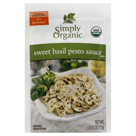 Simply Organic Sauce Mix, Sweet Basil Pesto