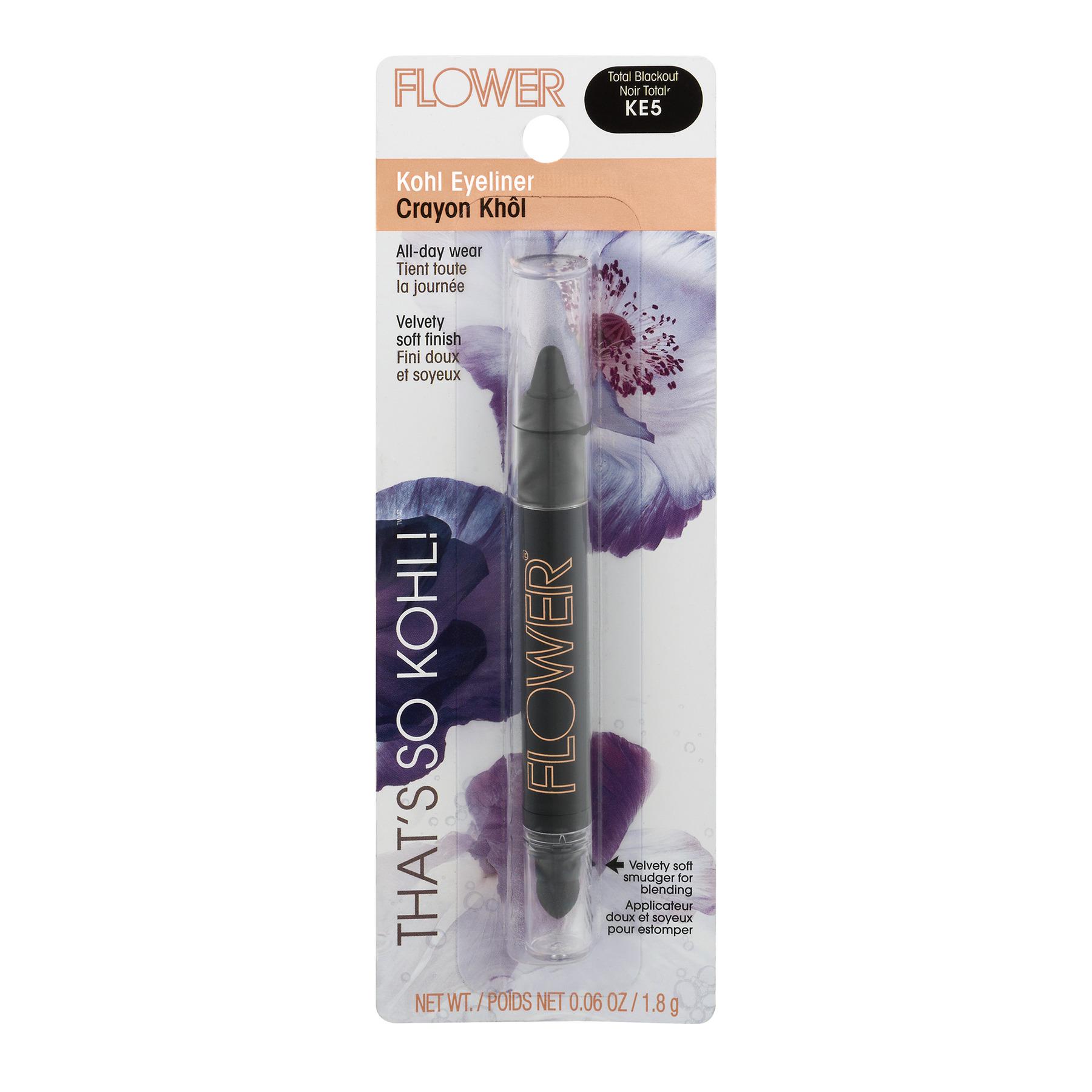 Flower Thats So Kohl Eyeliner Total Blackout