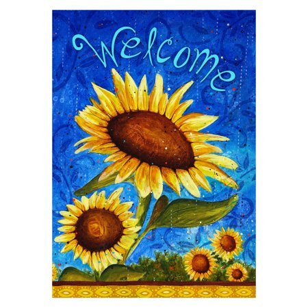 Toland Home Garden Sweet Sunflowers Double Sided Flag