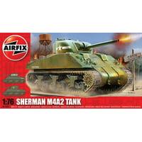 Airfix Sherman M4A2 Tank 1/76 Model Kit