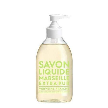 Compagnie de Provence Fresh Verbena Liquid Marseille Soap 10 oz Plastic Bottle