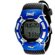Everlast Men's HR1 Finger-Touch Heart Rate Monitor Watch, Black Plastic Band