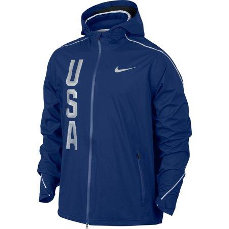 Team USA Nike Hyper Shield Full-Zip Jacket - Navy ()