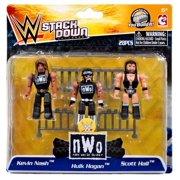 Kevin Nash, Hulk Hogan & Scott Hall Minifigure NWO New World Order
