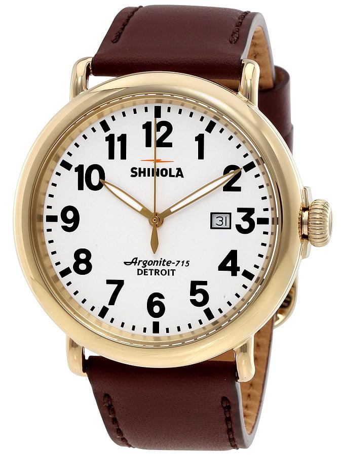Shinola The Runwell White Dial Mens Watch 20001118