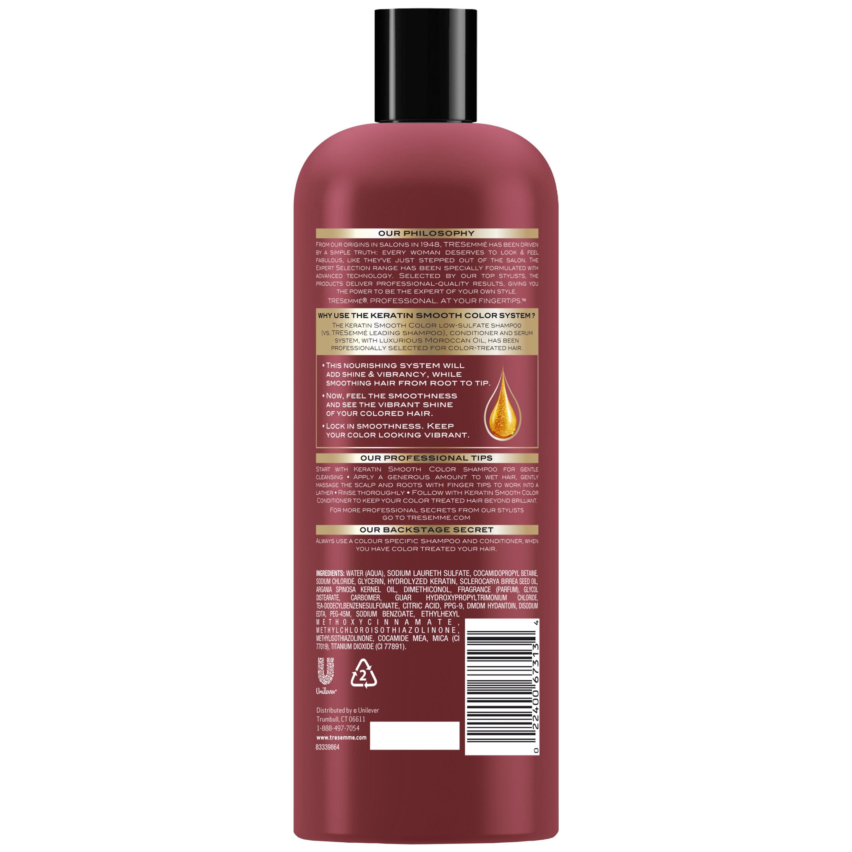 Tresemm Expert Selection Keratin Smooth Color Shampoo 25 Oz
