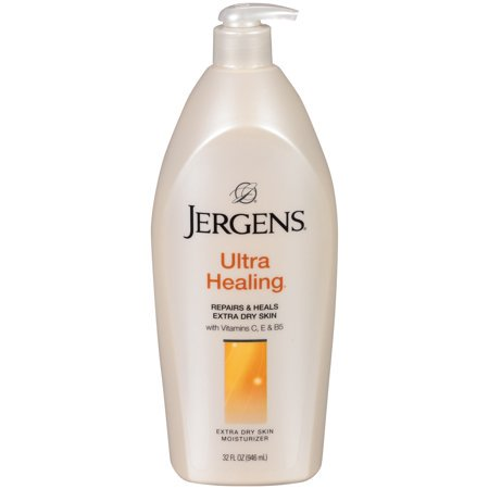 (3 Pack) Jergens Ultra Healing Extra Dry Skin Moisturizer 32 fl. oz