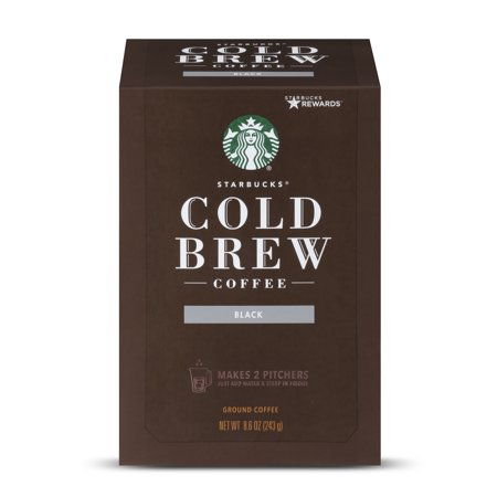 Starbucks Narino 70 Cold Brew Coffee Pitcher Packs, Medium Roast, 4 (The Best Cold Brew Coffee)
