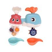 Children's Bathroom Whal Shower Toy Baby Toy Water Spray Toy Gift Set Gift Box
