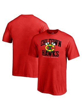 Chicago Blackhawks Youth Hometown Collection Chi Town Hawks T-Shirt - Red