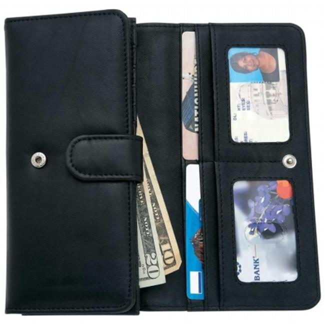 Embassy LULWAL24 Ladies Solid Genuine Leather Wallet - Gadgets and Gifts