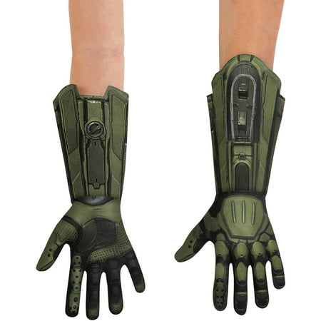 Master Chief Gloves Child Halloween Accessory (Master Chief Gloves)