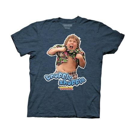 Goonies Truffle Shuffle Blue Tee - Truffle Shuffle T-shirt