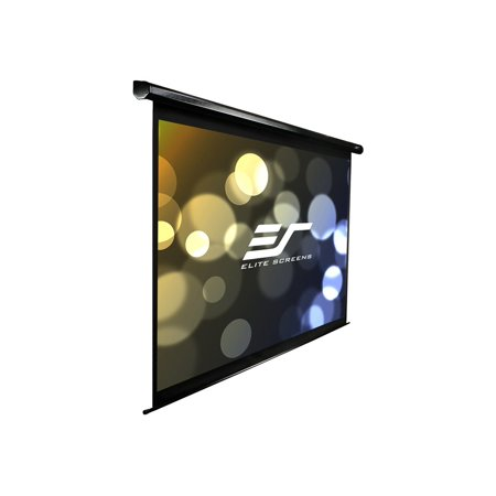 Elite Screens VMAX Series VMAX135UWV - Projection screen - motorized - 135 in ( 343 cm ) - 4:3 - MaxWhite - black
