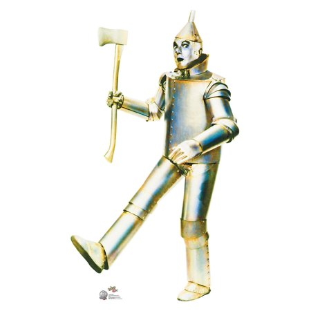 Tin Man - Wizard of Oz 75th Anniversary Cardboard Cutout Life Size Party Prop Decor Birthday Party Supplies Size - 72