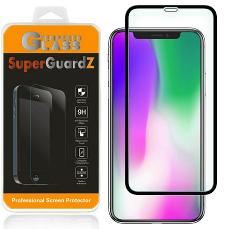 buy online 610cf b63d4 For iPhone XS Max - SuperGuardZ Full Cover Tempered Glass Screen Protector,  Edge-To-Edge, 9H, Anti-Scratch, Anti-Bubble, Anti-Fingerprint
