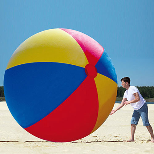 Gigantic 10' Beach Ball by Big Mouth Toys