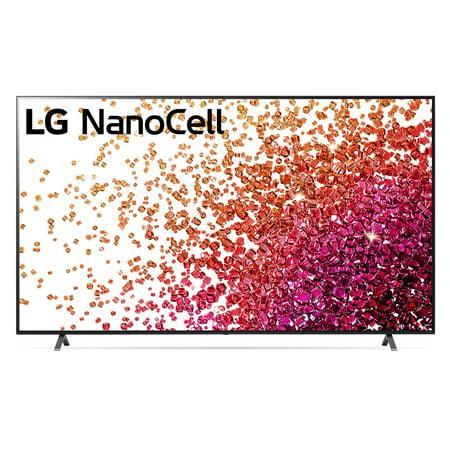 "LG 86"" Class 4K UHD Smart TV w/AI ThinQ® NanoCell 75 Series 85NANO75UPA"