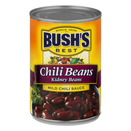 (6 Pack) Bush's Best Kidney Beans In A Mild Chili Sauce, 16