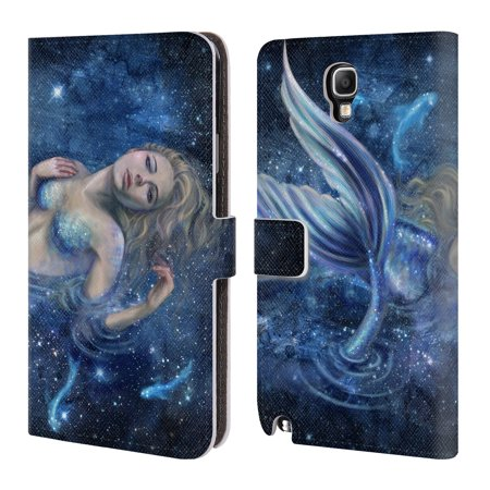 OFFICIAL SELINA FENECH MERMAIDS 2 LEATHER BOOK WALLET CASE COVER FOR SAMSUNG PHONES 2
