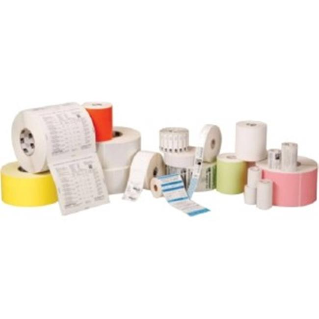 Zebra Technologies 10015783 4 x 1 in. Z-Perform 2000D Direct Thermal Label Paper - 1 in. Core, 2340 per Roll