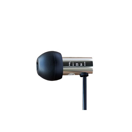 Final Audio Design E3000C High Res Earphones with Microphone (Stainless Steel)