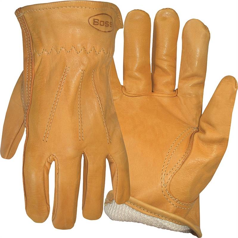 GLOVE LINED GRAIN LEATHER L
