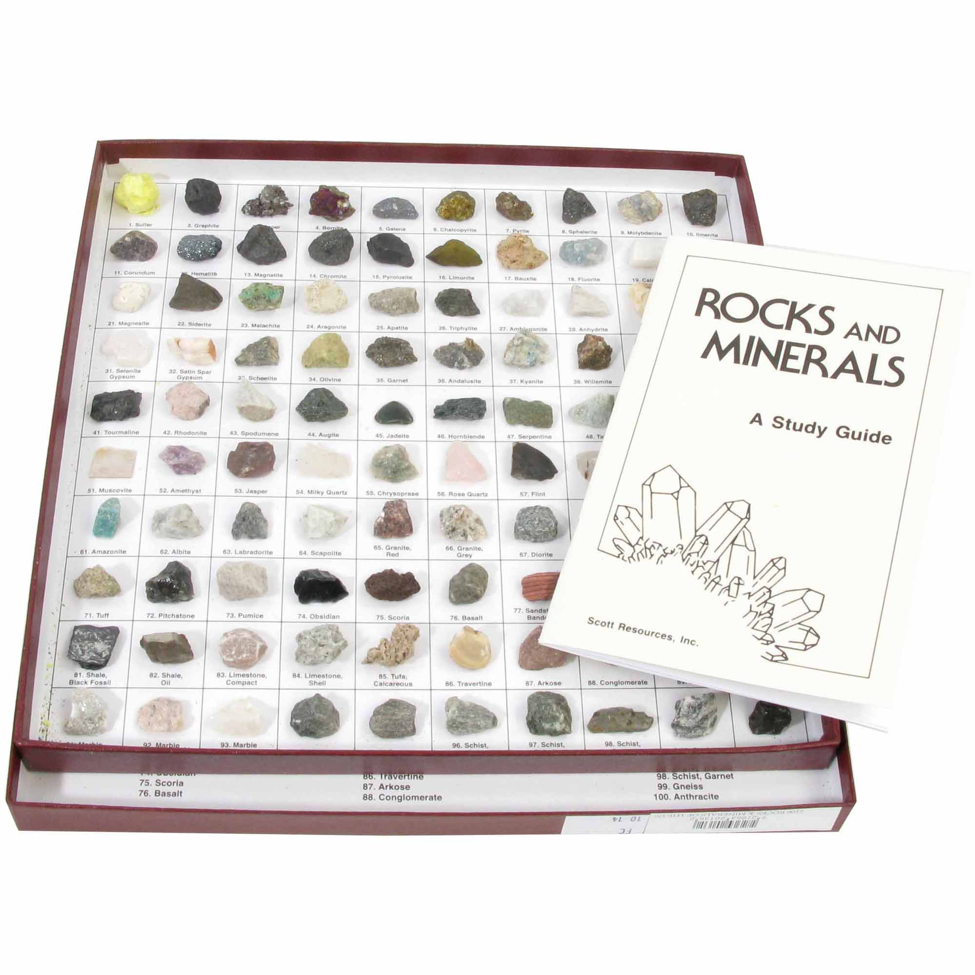 American Educational Products Rocks and Minerals of the U.S. Collection