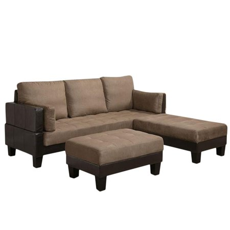 Prime Coaster Company Sofa Sofa Bed Ottoman Large And Small Brown And Dark Brown Pabps2019 Chair Design Images Pabps2019Com