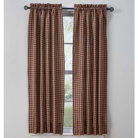 Town and Country Curtain Panels Wine or