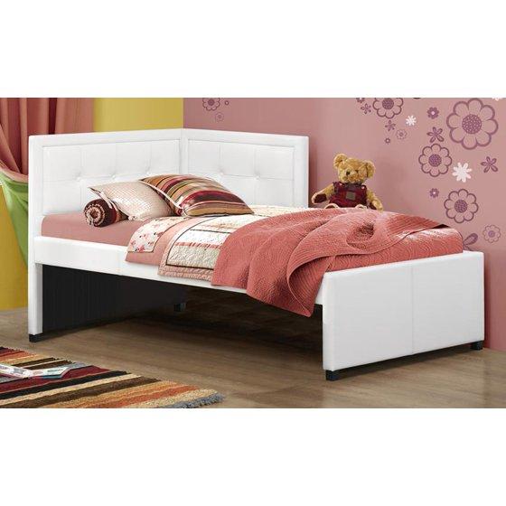 hillsdale frankfort upholstered corner daybed. Black Bedroom Furniture Sets. Home Design Ideas