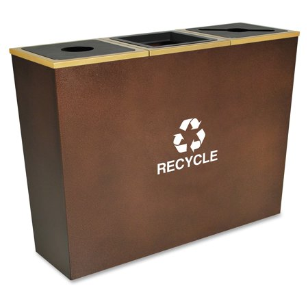 Ex Cell Kaiser Metro Rc Mtr 3 Hcpr Waste Receptacle   Hammered Copper  Rcmtr3hcp