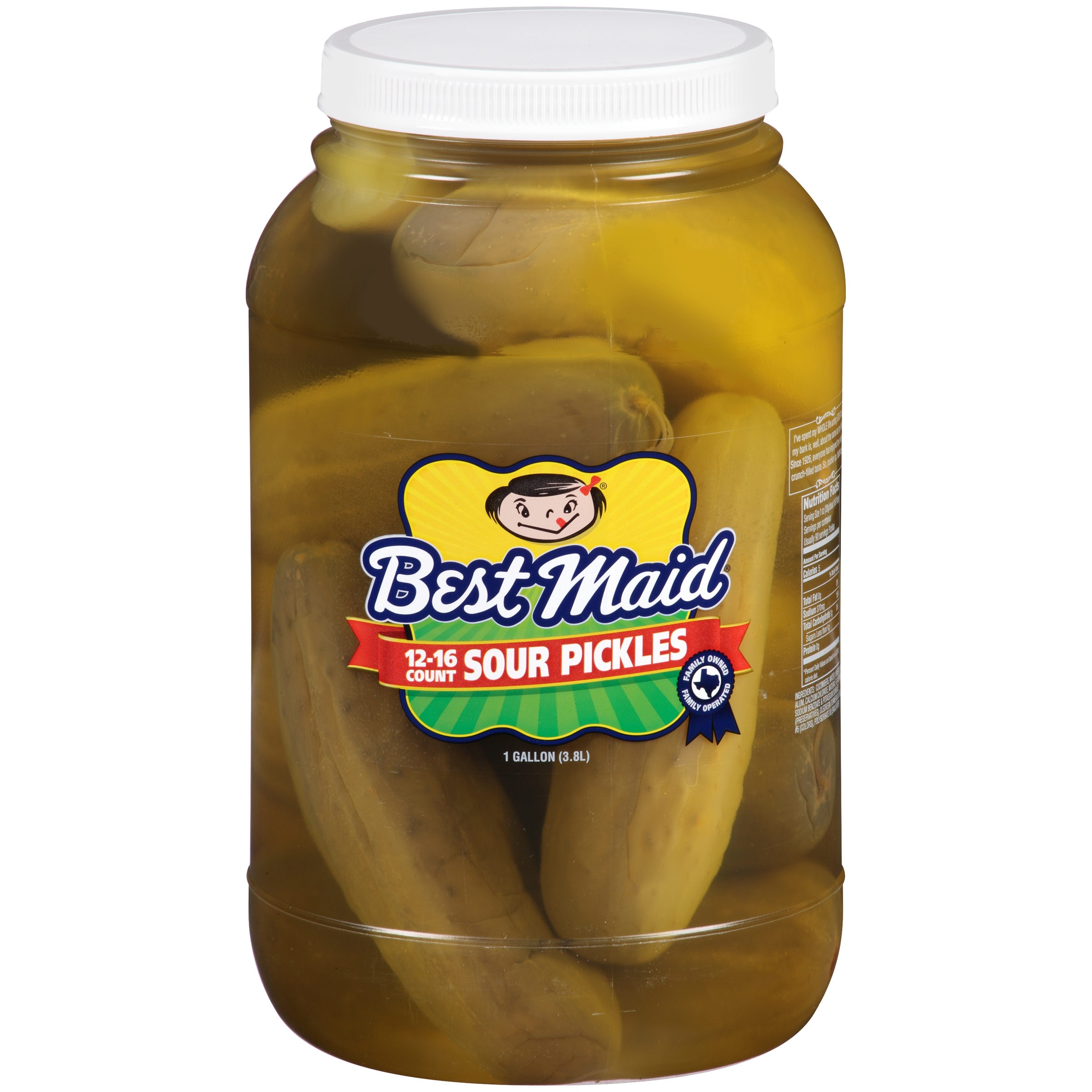 Best Maid: Sour 12-16 Ct Pickles, 1 Gal