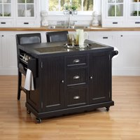 Home Styles Nantucket Distressed Black Finish Furniture Collection