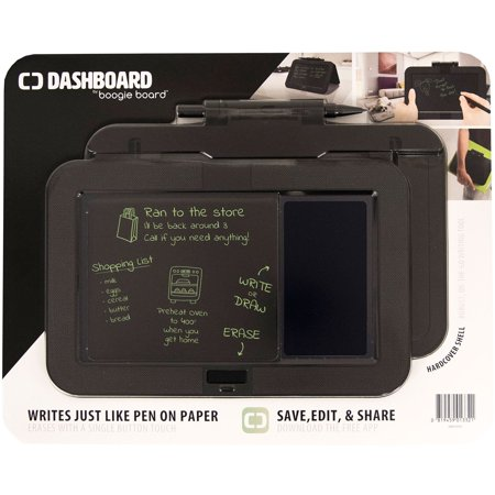 Dashboard by Boogie Board eWriter Tablet with Hardcover Shell, Charcoal