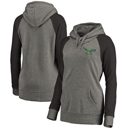 the best attitude 2e437 f1f7e Philadelphia Eagles NFL Pro Line by Fanatics Branded Women's Plus Sizes  Vintage Lounge Pullover Hoodie - Heathered Gray
