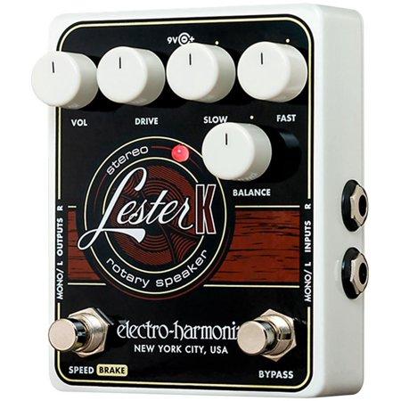 Stereo Volume Pedal - Electro-Harmonix Lester K Rotary Emulator Effect Pedal for Keyboard