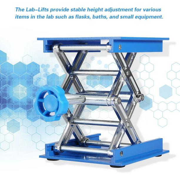 Stainless Steel 100100mm/1 Lifting Platform Roadiress Lifting Platform Laboratory Lifting Stand Scissor Rack