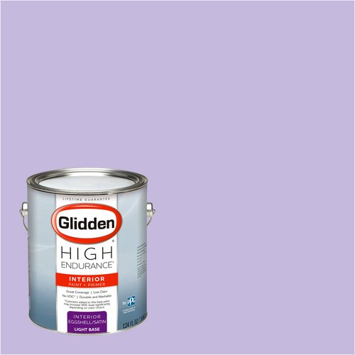 Glidden High Endurance, Interior Paint and Primer, Lilac Bouquet, #02RB 53/171