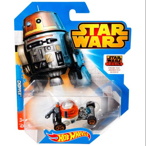 Hot Choppers - HOT WHEELS STAR WARS REBELS FROM THE ANIMATED SERIES CHOPPER