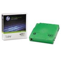 "HP 1/2"" Ultrium LTO-4 Cartridge, 2600ft, 800GB Native/1.6TB Compressed Capacity -HEWC7974A"