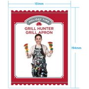 Holiday Time Grill Hunter Grilling Apron, Black